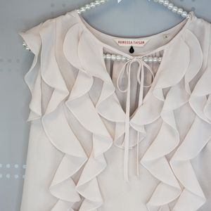 Rebecca Taylor   Ruffle blouse